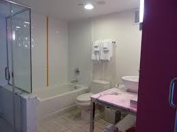 Flamingo Bathroom Go Deluxe Two Queen The Strip View Non Smoking Bathroom Picture