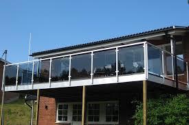 glas f r balkon balkongelaender glas aluminium balkon gelaender vsg terrassefc