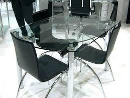 table de cuisine en verre trempé table cuisine en verre table cuisine verre tendance wengac table de