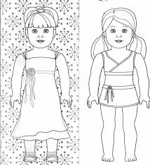 coloring coloring pages american dolls coloring