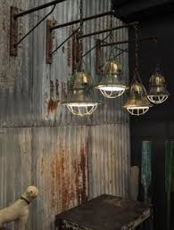 french industrial pendant lighting set of 5 antique french mercury glass industrial pendant lights