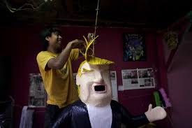 new mexico mexicans bash trump pinata call him imbecile