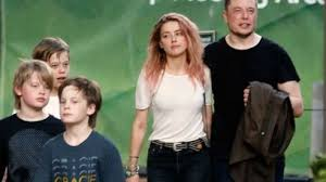 elon musk family amber heard johnny depp s ex out with billionaire elon musk