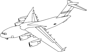 c17 plane coloring page wecoloringpage