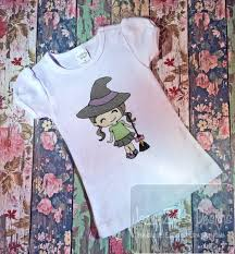 lil witch sketch embroidery design witch embroidery design