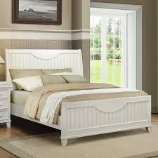 White Wood King Bedroom Sets Modern Bedroom Furniture Sets Captivating Decoration Using Light