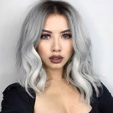 funky hairstyle for silver hair best 25 silver hair ideas on pinterest gray silver hair silver