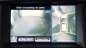 2013 infiniti fx aroundview monitor if so equipped youtube