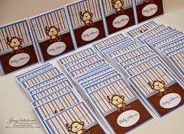 monkey invitations baby shower jingvitations baby shower