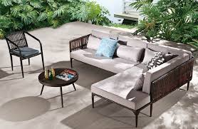 Contemporary Outdoor Sofa Deep Seat Sectional Patio Contemporary With Modern Outdoor Sofa