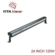 24 inch led light bar offroad 24 inch 120w single row off road led light bar yita b120 s2