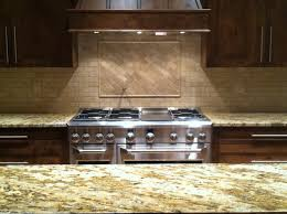 Stone Kitchen Backsplash Ideas Kitchen Stone Backsplash Ideas With Dark Cabinets Fence Bath