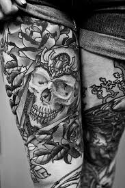 thigh tattoos tattoos library