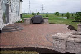 backyards impressive stained concrete patio floors for backyard