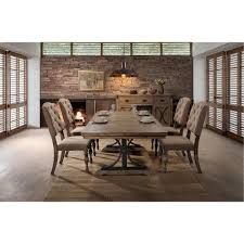dining table sets for sale near you rc willey furniture store 5pc hm4280 8005 din driftwood 5 piece dining set with tufted chairs