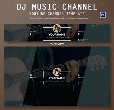 free youtube banner layout youtube banner template photoshop new channel art template size