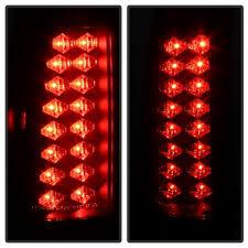 1998 chevy silverado tail lights chevy silverado 1988 1998 black smoked led tail lights a103692u109