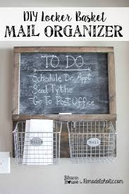 Mail And Key Holder Chalkboard Mail Organizer Photo U2013 Home Furniture Ideas