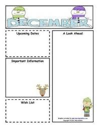 10 best images of preschool weekly newsletter editable pre k