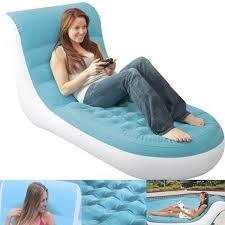 Intex Sofa Bed Intex Inflatable Splash Lounge Flocking Single Sofa Bed Air Chair Pool