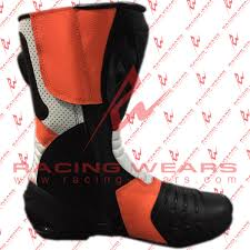 leather motorbike boots racing wears repsol motorbike racing leather boots racing wears
