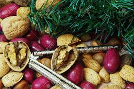 Christmas Nuts Christmas Mixed Nuts Containing Walnuts Pecans Brazil Nuts