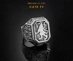 antique lion ring holder images Sale 30 lion mens signet ring silver lion signet ring vintage jpg