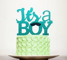 mustache cake topper it s a boy cake topper baby shower cake topper mustache cake