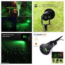 outdoor green static firefly starry moving laser light projector