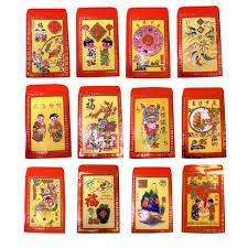 new year or tet lucky money envelopes mixed assortment