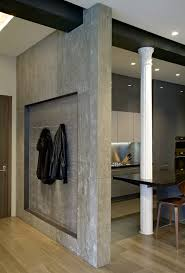 Glamorous Interior Designs With Concrete Walls Contemporary - Concrete walls design