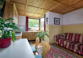 Room With Kitchen by Apartments In Ortisei South Tyrol Dream Holiday In Val Gardena