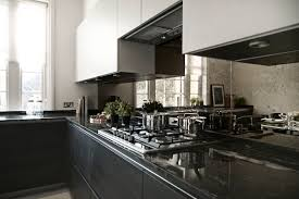 Mirror Backsplash Kitchen by Kitchen Highlight Antique Mirror Splashback Looks Amazing And
