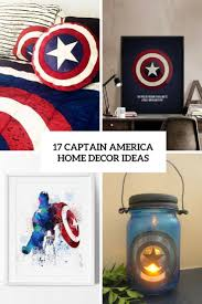 17 captain america home décor ideas shelterness