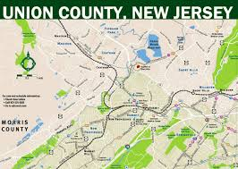 Map Of Essex County Nj New Union County Transit Map Designed To Make Trip Planning More