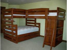 Plans For Triple Bunk Beds by Triple Bunk Bed Pictures Triple Bunk Bed Design As Amazing Bed