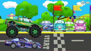 cartoon race car cartoon for children the ambulance emergency vehicles cars