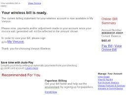 Change Of Address Announcement Letter Announcements New Phishing Scams Customer Service Verizon