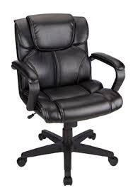 Office Max Office Chair Brenton Studio Briessa Mid Back Vinyl Chair Black By Office Depot