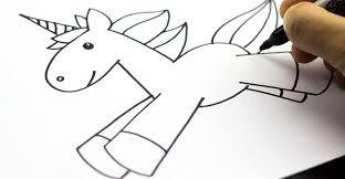 draw unicorn kids unicorns drawings teaching art
