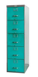 Vintage Metal File Cabinet Twenty Gauge File Cabinet 5 Drawer Turquoise File Cabinets