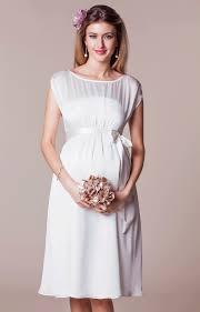 maya maternity wedding gown short ivory maternity wedding