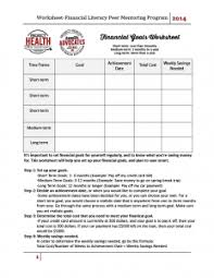 Health And Wellness Worksheets For Worksheets Project Health