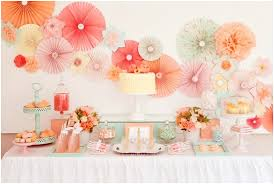 Yellow And Pink Bathroom Jprchitect Design Baby Shower Idea Pink Peach Aqua U0026 Yellow