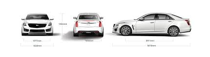 cadillac cts dimensions cadillac cts v specifications high performance sedan in bahrain