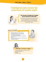 unidades y sesiones de aprendizaje comunicacion minedu rutas unidad 4 sesiones cuarto grado 2015