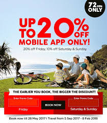 airasia singapore promo airasia 72 hour mobile app exclusive sale with up to 20 off