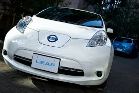 nissan leaf zero emission building a greener leaf