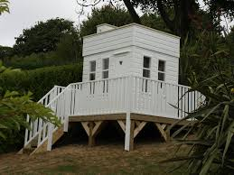 houses built on slopes awkward spaces the playhouse company