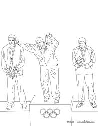 olympic games victory ceremony coloring pages hellokids com